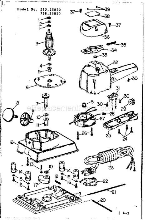 Craftsman 31525820 Parts List And Diagram