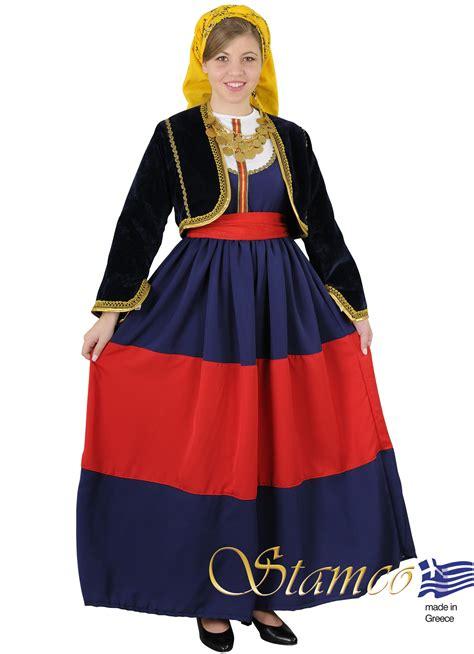 greek traditional costumes mani women costume stamco