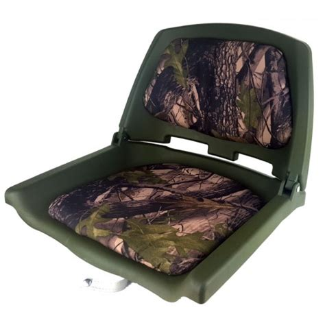 duck swivel seat camo boat seat folding includes metal swivel sturdy