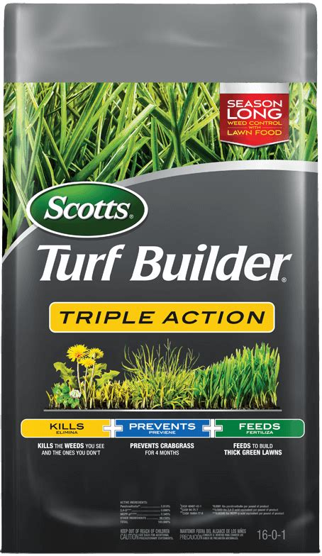 scotts turf builder triple action scotts