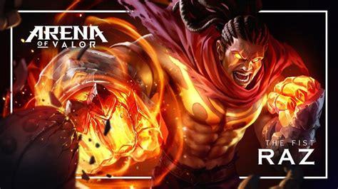 Kaos Aov Arena Of Valor Raz arena of valor heropedia raz petarung sakti dengan tinju mematikan duniagames