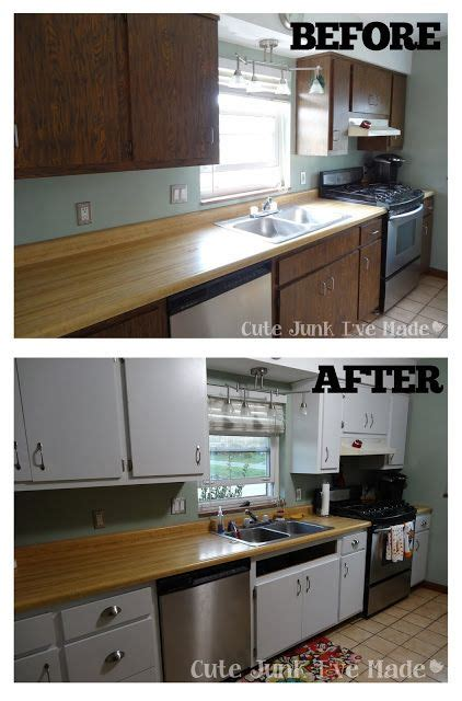 paint laminate cabinets   neat