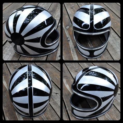 custom design for a helmet chemical candy customs refurbished helmets