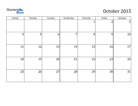 printable fillable calendar october 2015 october 2015 calendar pdf 2017 printable calendar