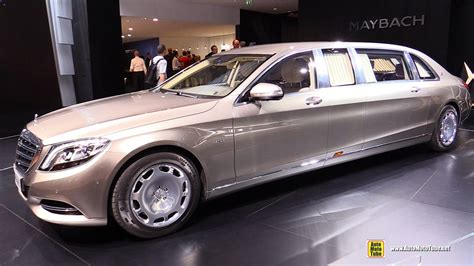 2016 mercedes maybach s600 pullman limo exterior