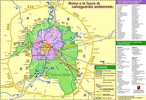 roma mobilità ztl mappa di roma capitale
