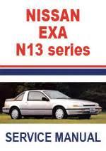 Nissan Exa N13 Repair Manual