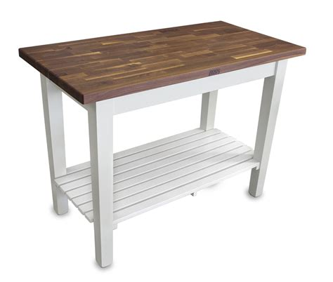 boos butcher block work tables