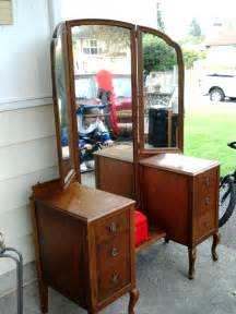 interior top notch table three way vanity mirror for your