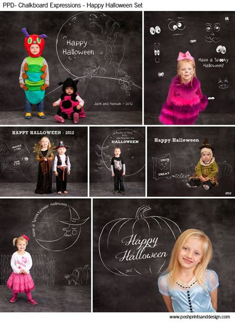template photoshop love chalkboard expressions happy halloween photoshop
