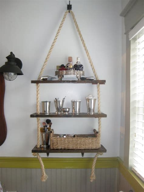 hanging shelf ideas 17 diy space saving bathroom shelves and storage ideas shelterness