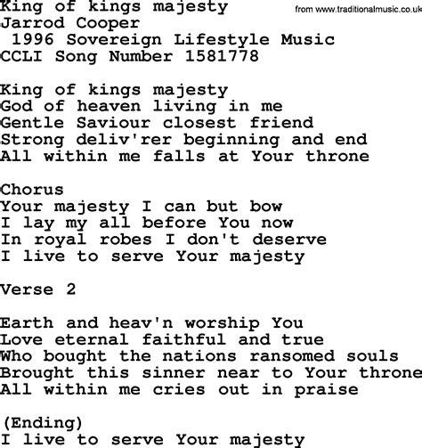 pin hhh king of lyrics on