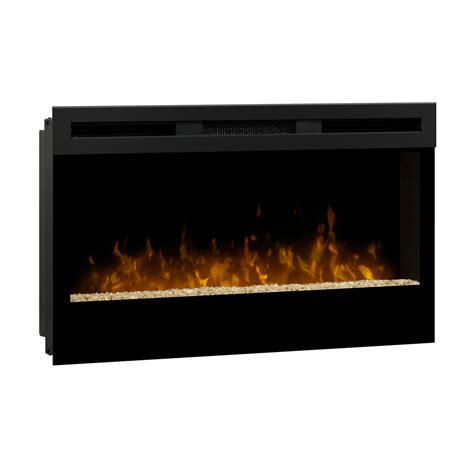 Linear Fireplace Electric dimplex wickson 34 inch linear electric fireplace blf34