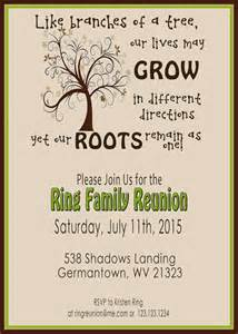 Family Reunion Invitation Templates by The World S Catalog Of Ideas
