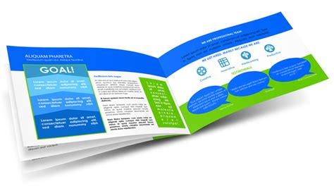 horizontal brochure template 8 page 8 5x5 5 horizontal booklet mockup cover actions