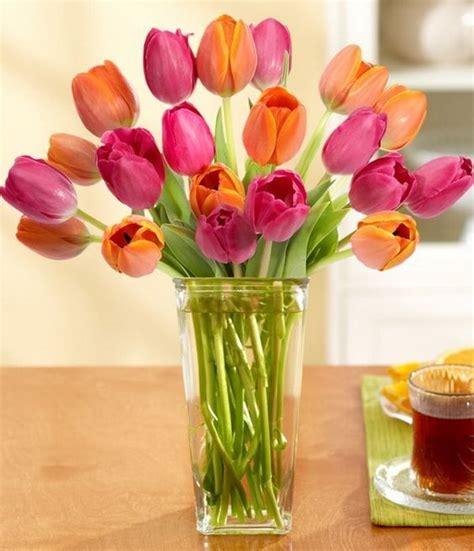 imagenes de flores orquideas y tulipanes arreglos florales con tulipanes decoraci 243 n de interiores