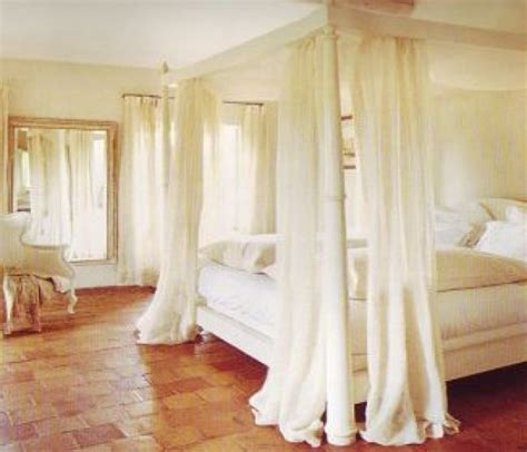 how to put curtains on a canopy bed canopy beds everything simple