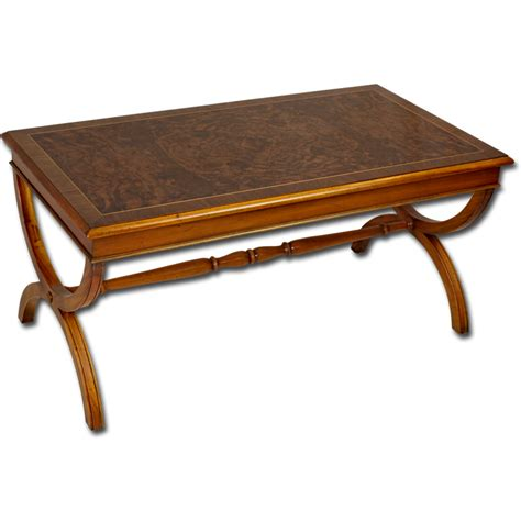 Antique Reproduction Coffee Tables Reproduction Burr Walnut Coffee Table