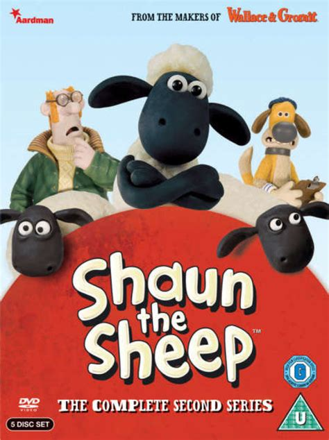 Shaun The Sheep Shaun Basic 30cm shaun the sheep complete series 2 dvd zavvi