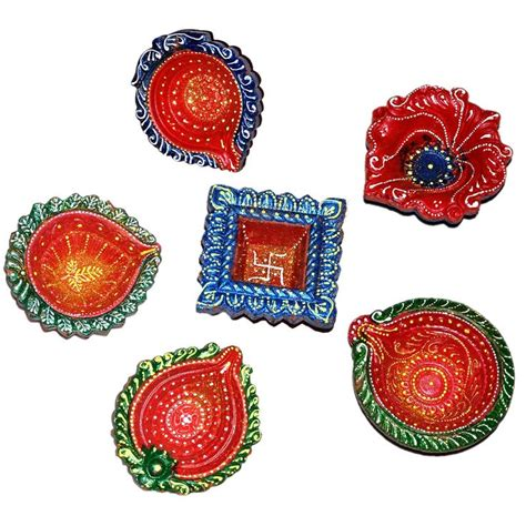 Handmade Diwali Diyas - 17 best images about home decor on indian