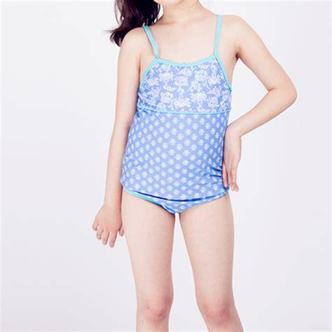 kids two piece swimwear 4 13 years children girls swimsuit two pieces swimwear for