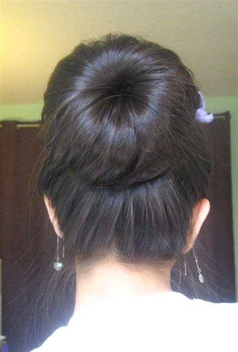 sock bun hair tutorial for long fine hair youtube