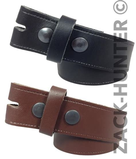 new mens womans snap on belt real leather genuine leather