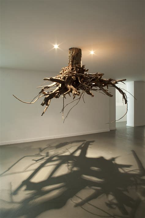 Root For Light by Spectacular Gravity Defying Tree Root Chandeliers Modern Met