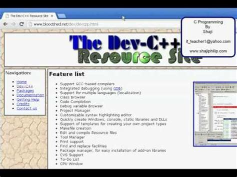 c tutorial for dev c c programming tutorial 2 dev c youtube