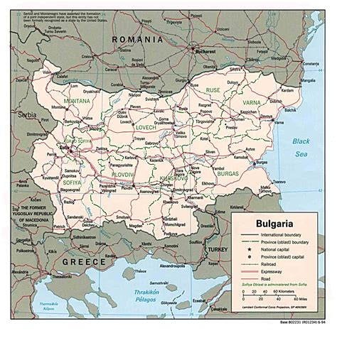 bulgaria maps perry castaneda map collection ut