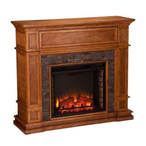 southern enterprises belleview faux stone fireplace tv