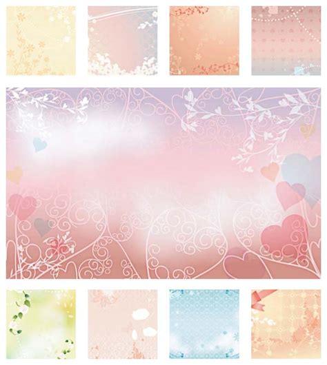 Wedding Background Set wedding background template set free