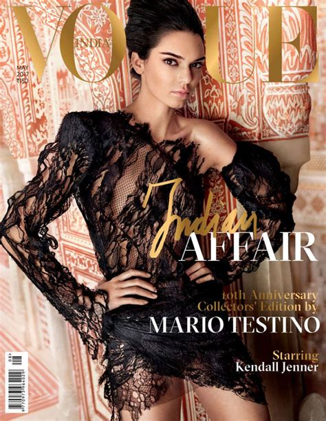 Vogue India by Kendall Jenner Vogue India May 2017 Photos
