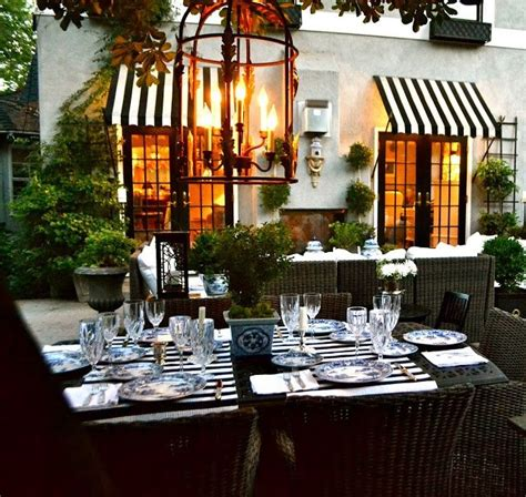 black and white striped awning striped awnings table inspiration pinterest