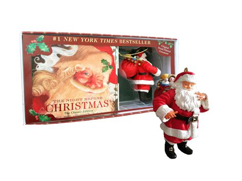 night before christmas keepsake gift set book by clement