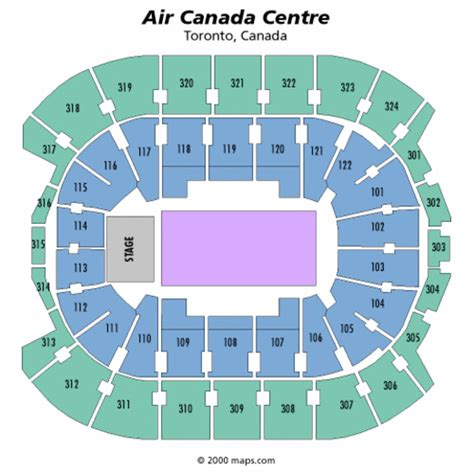 Acc Floor Plan by Air Canada Centre General Seating Chart Air Canada Centre