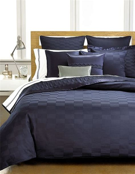 hugo boss bedding windsor navy collection bedding