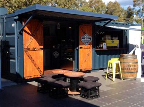 Small Home Business Shipping Container Bars Container Restaurant For Sale