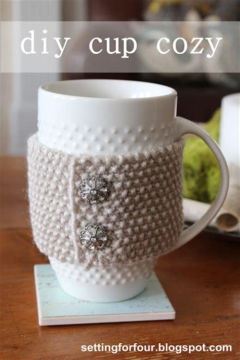 free knitting pattern coffee cup sleeve 25 diy coffee cup cozy tutorials and patterns shelterness
