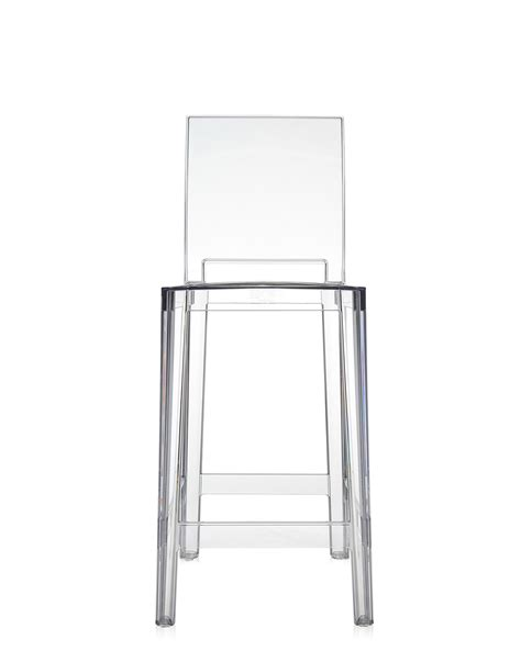 sgabello ghost kartell kartell sgabello one more cristallo newformsdesign