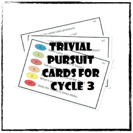 Trivial Pursuit Template by Trivial Pursuit Cards And Template Half A Hundred Acre Wood