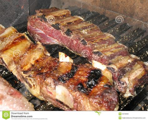 Bbq Country Style Ribs Recipe - argentine asado stock image image of meal chef bite 3370693