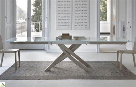 foto di tavoli tavolo allungabile artistico di bontempi arredo design
