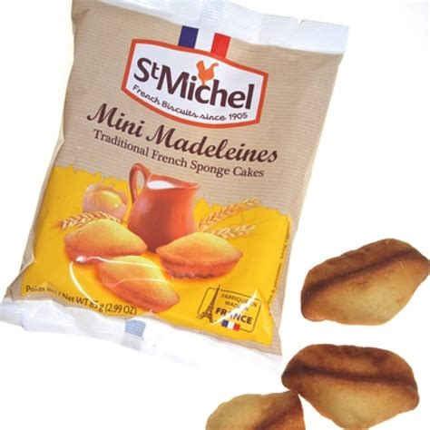 St Mini st michel mini madeleines biscuit st michel shop by brand