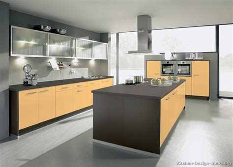 orange and yellow kitchen pictures of modern yellow kitchens gallery design ideas