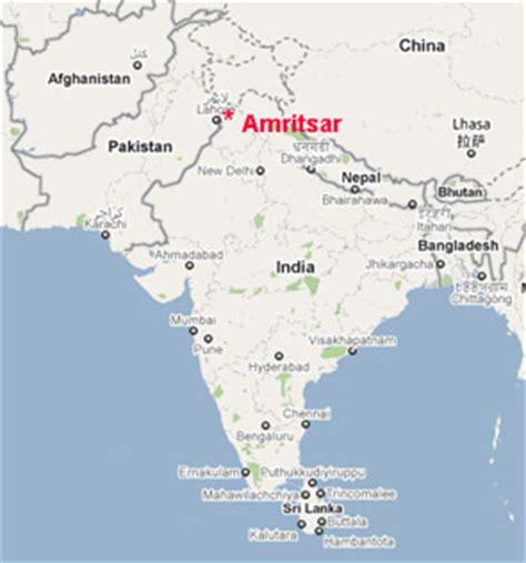 amritsar maps amritsar pohledy z cest
