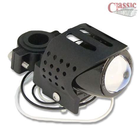 universal round fog lights universal black motorcycle fog auxiliary light round
