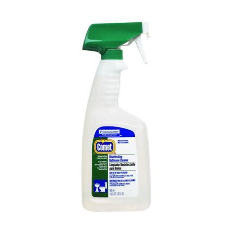 comet disinfecting bathroom cleaner 22569 comet disinfecting bathroom cleaner 8 32 oz cs
