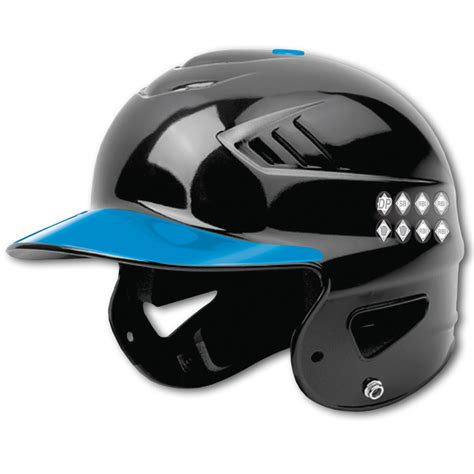 Batting Helmet Award Stickers