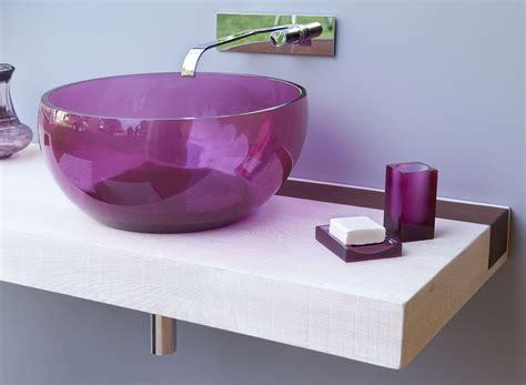 bagni colorati immagini lavabi colorati per un bagno di design cose di casa